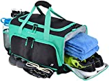 """(US) (UPDATED) Ultimate Gym Bag: The Crowdsource Designed 20"""" Duffel by FocusGear (with Improved Stitching Based on Customer Feedback)"""