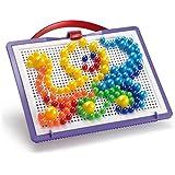 Quercetti Fantacolor 0920 - Juego de piezas para crear figuras (160 piezas)