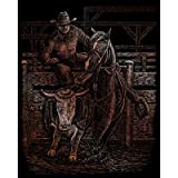 "Copper Foil Engraving Art Kit 8""X10""-Rodeo"