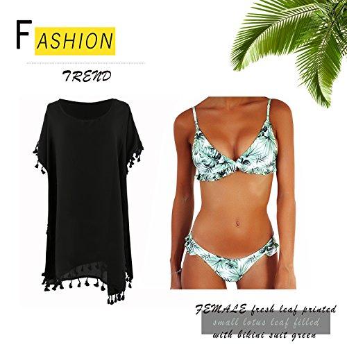 Stampato Push Triangolo S Da Bikini Bagno Up Due Donne JewelryWe Pezzi Costume Sexy Imbottito Mare n8aqxUY