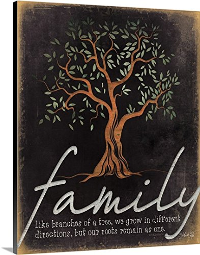 Premium Thick Wrap Canvas entitled Family product image