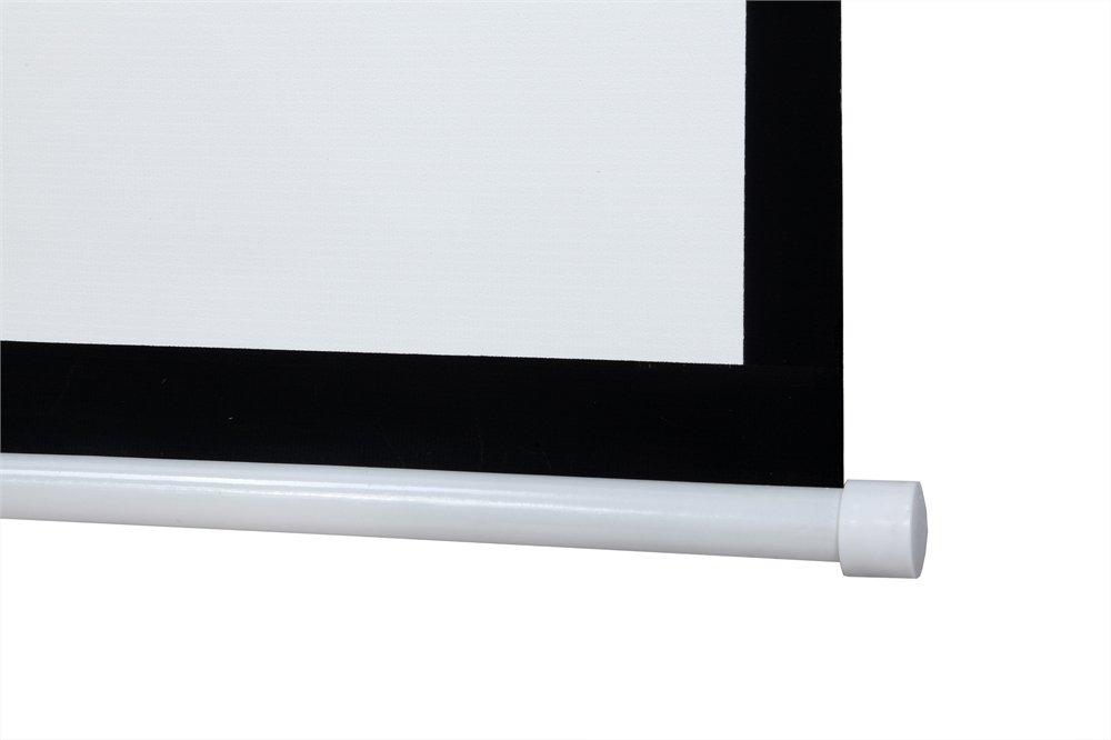 "Duronic APS60//43 Beamer Leinwand-Klettverschluss-Wandmontage-4:3-60/""-122 X 91cm"