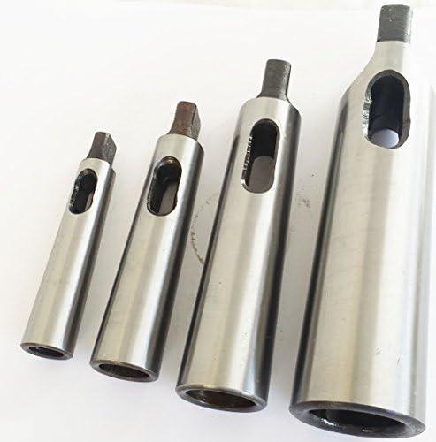 Reduzieradapter f/ür Drehfr/äsen Atoplee Morsekegel-Bohrh/ülsen MT1 auf MT2, MT2 auf MT3, MT3 auf MT4, 3 St/ück 9 Gr/ö/ßen