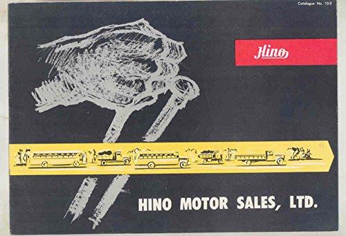 Amazon.com: 1959 Hino Heavy Duty Construction Dump Truck Bus ...