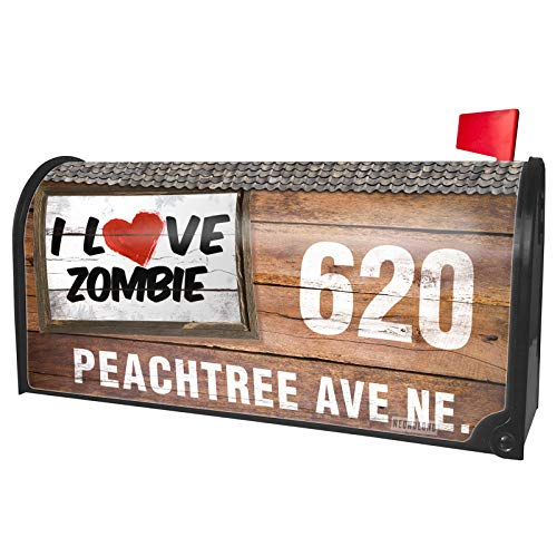 NEONBLOND Custom Mailbox Cover I Love Zombie Cocktail]()