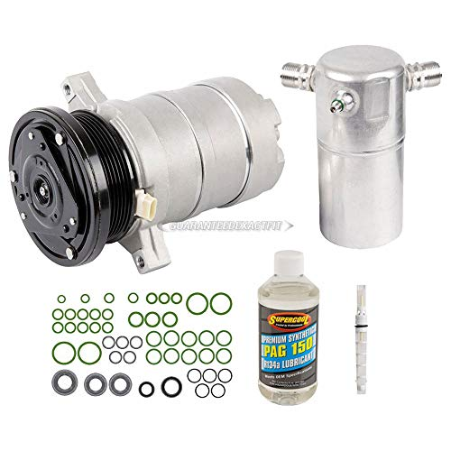 AC Compressor w/A/C Repair Kit For Cadillac DeVille Fleetwood 60 Specia - BuyAutoParts 60-80299RK New - Cadillac Fleetwood Ac Compressor