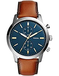 Men's FS5279 Townsman 44mm Chronograph Luggage Leather Watch