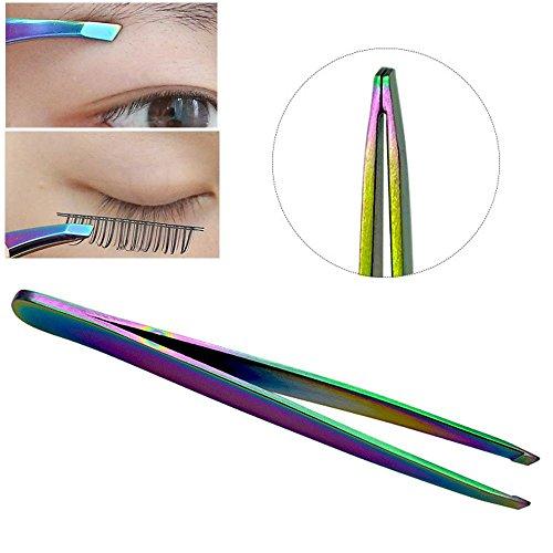 Slanted Eyebrow Tweezers Face Hair Removal Clip Cosmetics Beauty Makeup Tool