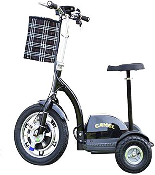 3 Rueda de Bicicleta eléctrica, Triciclo eléctrico para Adultos ...