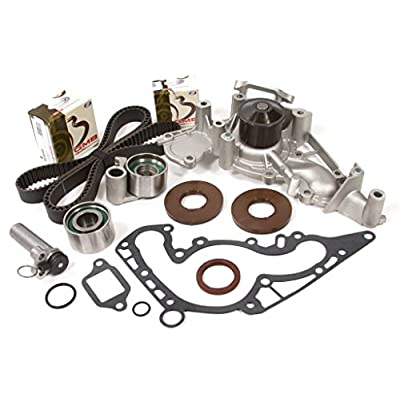 Evergreen TBK298HWPT Fits 98-07 Lexus Toyota Tundra Sequoia 4.7L DOHC Timing Belt Kit Water Pump: Automotive