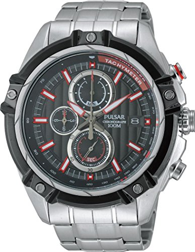Pulsar WRC PV6001X1 Mens Chronograph Solid Case