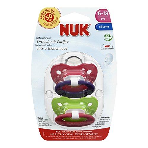 NUK Pack 2 BPA classique Mode