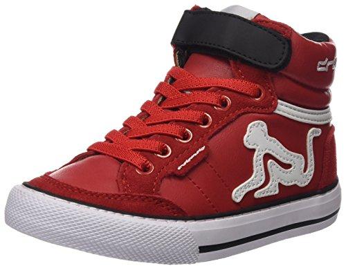 Bambino DrunknMunky Sneaker Boston Redblack Collo Camu Rosso a Alto xxzAgY