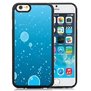 NEW Unique Custom Designed iPhone 6 4.7 Inch TPU Phone Case With Water Bubbles Illustration_Black Phone Case