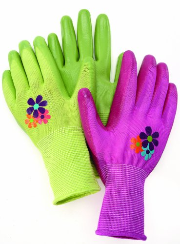 Magid AL314T Allegro Ultra Grip Gardening Glove, Large, Color Varies (Fabrics Allegro)