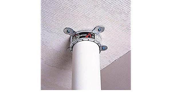 Silver LCC200 Pipe Collar,2 In.,For Plastic Pipe