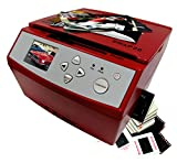 Wolverine SNAP20 20 Megapixels 35mm Slides Negatives and Photo to Digital Image Converter, Red