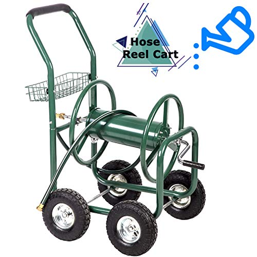 (FDW Garden Water Hose Reel Cart Tools Outdoor Yard Water Planting Truck Heavy DutyWater Planting)