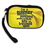 I'm A Gamer Wallet Handbag Light Bag 100% Polyester Fiber Coin Purse