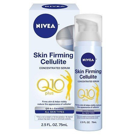 Nivea Good-bye Cellulite 10 Day Serum with Natural Lotus Extract and Skin's Own L-carnitine. First Proven Results in 10 Days.