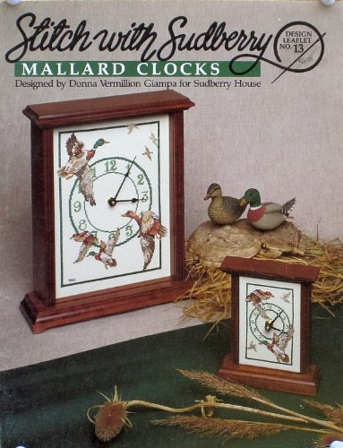 Stitch with Sudberry: Mallard Clocks (Design No. 13)