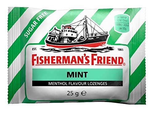 Fisherman's Friend Sugar Free Mint Flavour Lozenges 25 g/pack (12 packs/box)