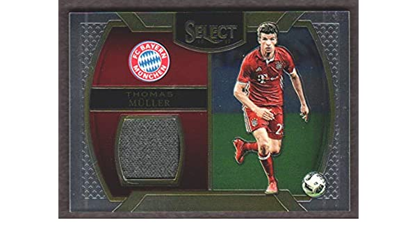 f91ea452 2016-17 Panini Select Soccer Memorabilia #M-TM Thomas Muller Jersey FC  Bayern Munich at Amazon's Sports Collectibles Store