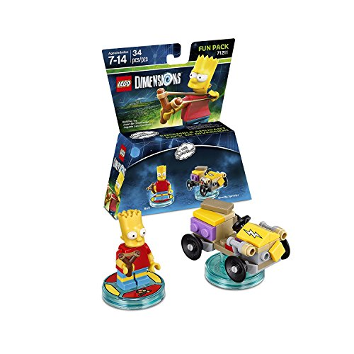 The Simpsons Homer Simpson Level Pack + Bart Simpson + Krusty + Scooby Doo Team Pack - Lego Dimensions (Non Machine Specific) by WB Lego (Image #2)