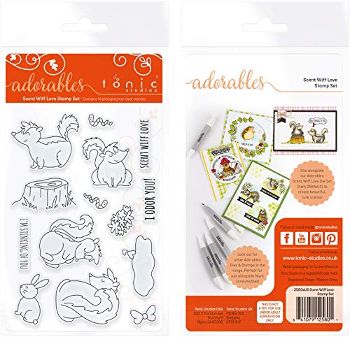 (TONIC STUDIOS Clear Stamps-Scent Wiff Love)