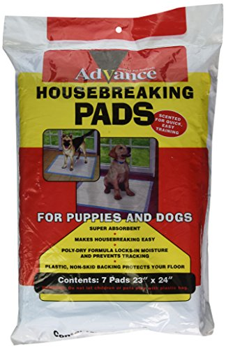Coastal Training Pad - Coastal Pet Products DCP8007 7-Pack Advance Dog Training Pads with Plastibacking