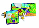 Manhattan Toy Soft Activity Book with Tethered Toy, Sunny Day, Baby & Kids Zone