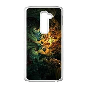 Creative Girl Graffiti Custom Protective Hard Phone Cae For LG G2