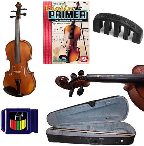 Aprender 2 Play violín acústico – Violín (tamaño 1/10) W ...
