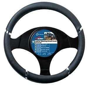 """Sumex 2505057 - Funda Volante PVC """"Speed"""", Color Negro, 37 - 39 cm"""
