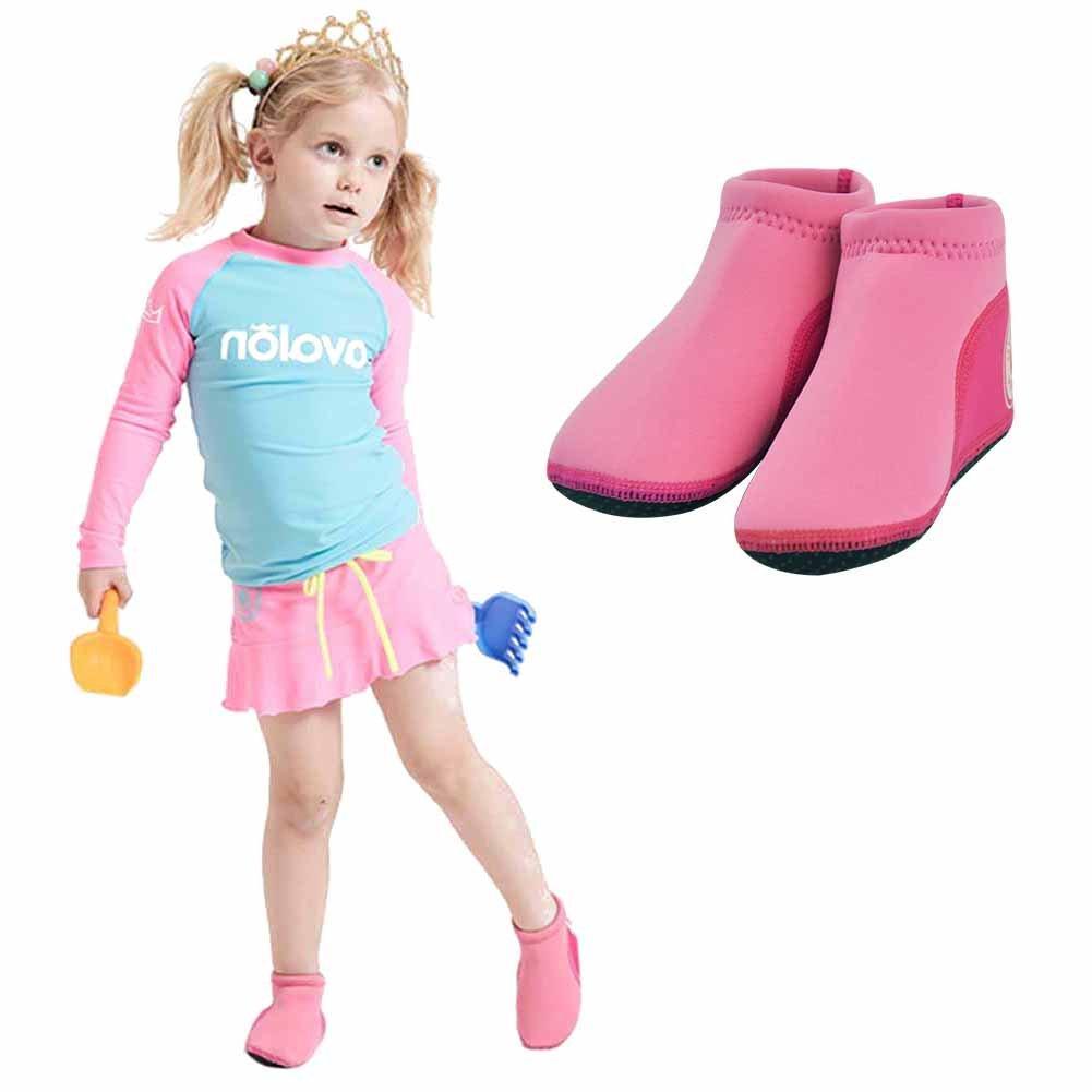 GudeHome Baby Barfu/ß Schuhe S/äuglingsschwimmen Schuhe Wasserschuhe Strandschuhe Neopren Gepolsterte weiche Schuhe