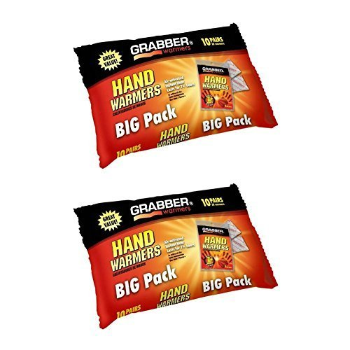 Grabber Hand Warmers, 10 Pairs (Pack of  - Grabber Hand Warmers Shopping Results
