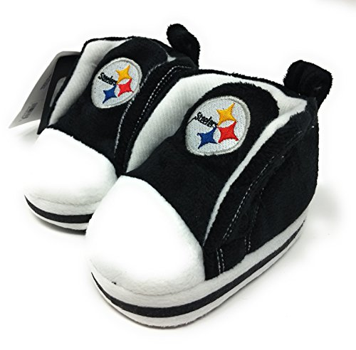 NFL Pittsburgh Steelers High Top Baby Bootie (12-18 Months)