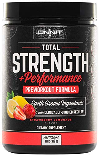 Onnit Total Strength + Performance | Stimulant-Free Pre-Workout Supplement |...