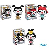 Pop!: Animaniacs Yakko, Wakko, and Dot Vinyl Figures! Set of 3