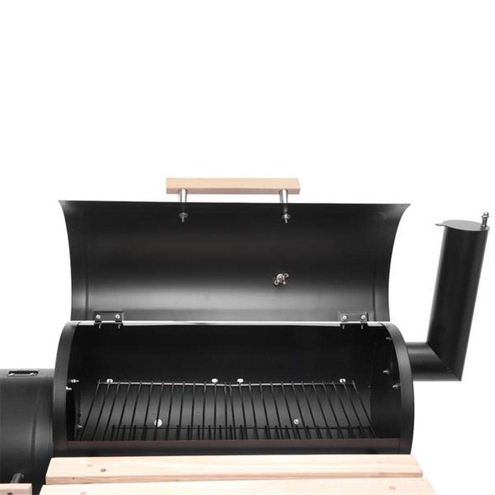 Amazon.com: Teeker Charcoal Grill BBQ Grill with 2 Cooking ...