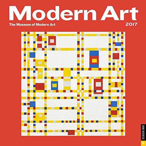 Modern Art 2017 Wall Calendar