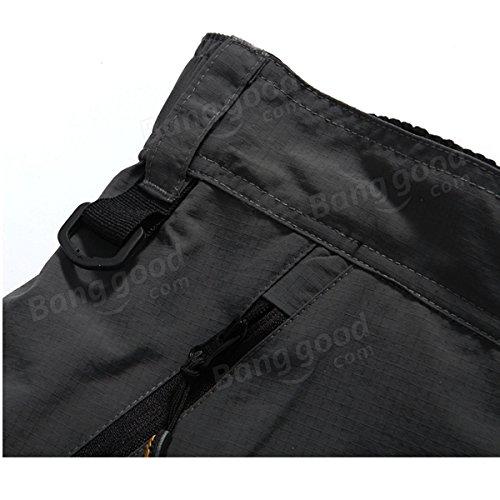 Bazaar Amovibles multifonctionnels occasionnels cuissards de vélo pantalons d'hommes Santic avec 3d coussin
