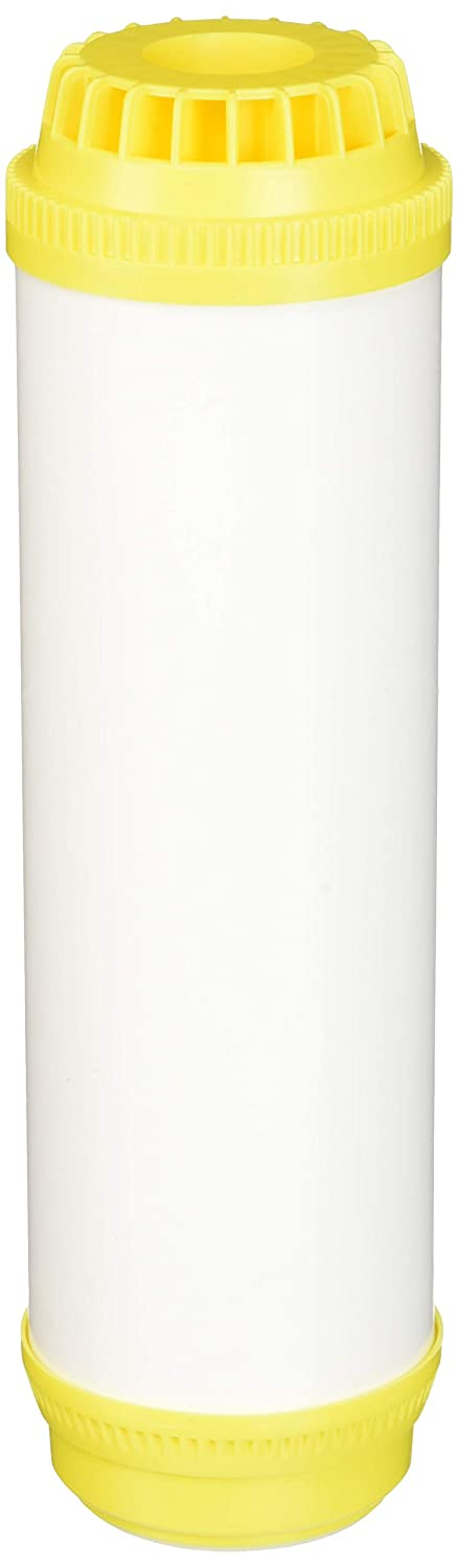 Hydronix HX-UDF-10C100E Softening Filter Cartridge with NSF Certified Cation Resin 2.5 x 10 White