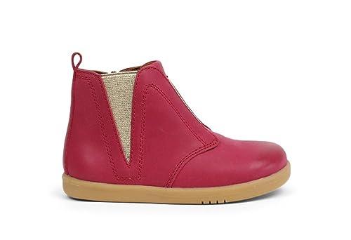 Bobux I Walk Signet Boot Dark Pink, Botas para Caminantes Principiantes, Niña, Elegantes, Flexibles y Antideslizantes: Amazon.es: Zapatos y complementos