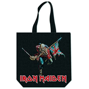 Amazon.com: (15 x 15) bolsa de Iron Maiden: Music