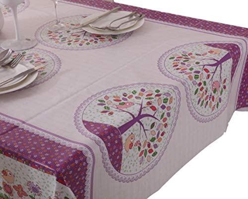 Vinylla Mantel para mesa (PVC, fácil limpieza), diseño de bosque ...