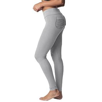 ELECTRI Femmes Taille Haute Sport Leggings Pantalon Fitness Courir Pantalon  Gym Stretch Pantalon Patchwork Crayon Pantalon 62e683d5e99