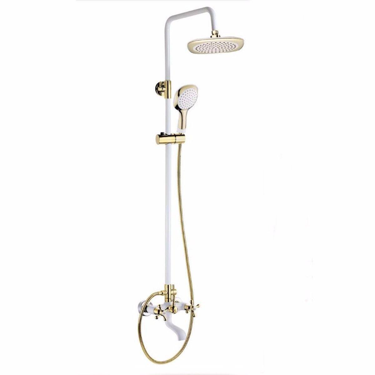Suministros de limpieza y saneamiento YSRBath Modernos Grifos del Fregadero del Cuarto de baño Giratorio Negro Negro de Agua fría y Caliente Cocina Mezclador Grifos de Lavabo Accesorios de baño