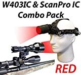 Wicked Lights W403IC & ScanPro IC Night Hunting Light and Headlamp Combo Pack With RED Intensity Control LED's for Predator, varmint & Hog Review