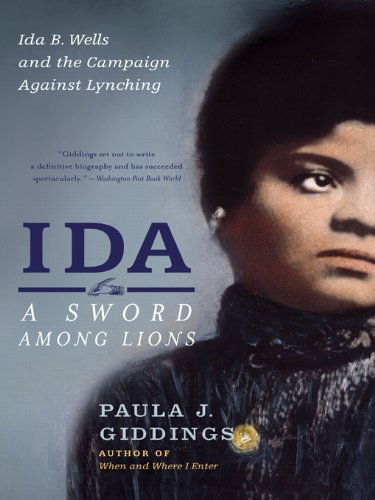 Lions Sword (Ida: A Sword Among Lions: Ida B. Wells and the Campaign Against Lynching)